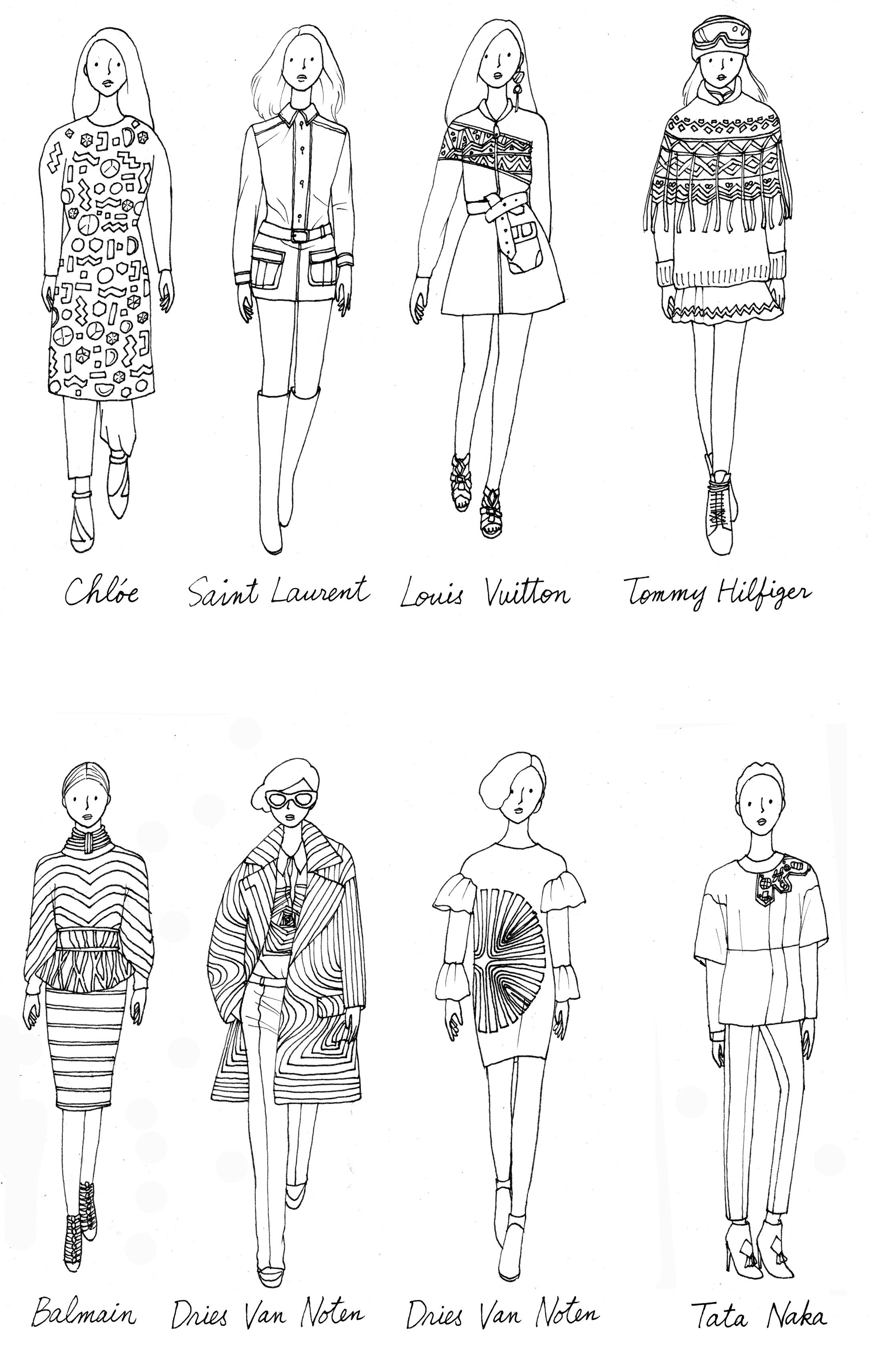 Coloriage robe styliste recherche google styliste - Coloriage robe de mariee a imprimer ...