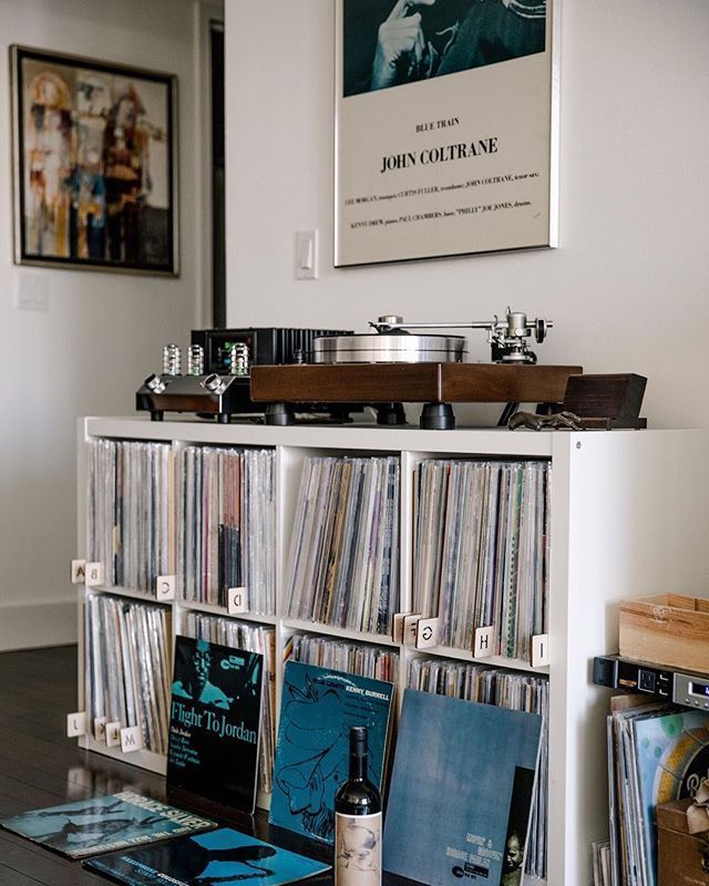 We make record-hoarding look damn good | Products for music lovers. | Best Audio Room Ideas, Tips and Images