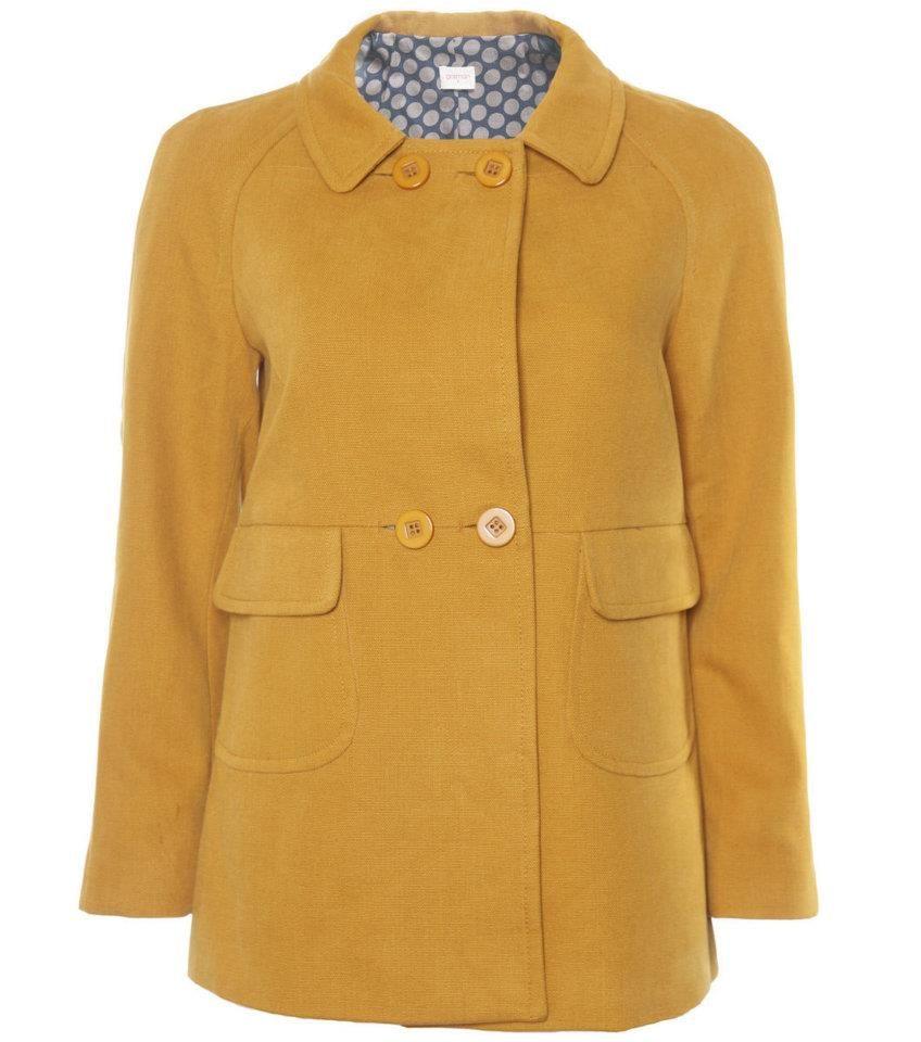 gorman | Clothes, Gorman clothing, Mustard coat