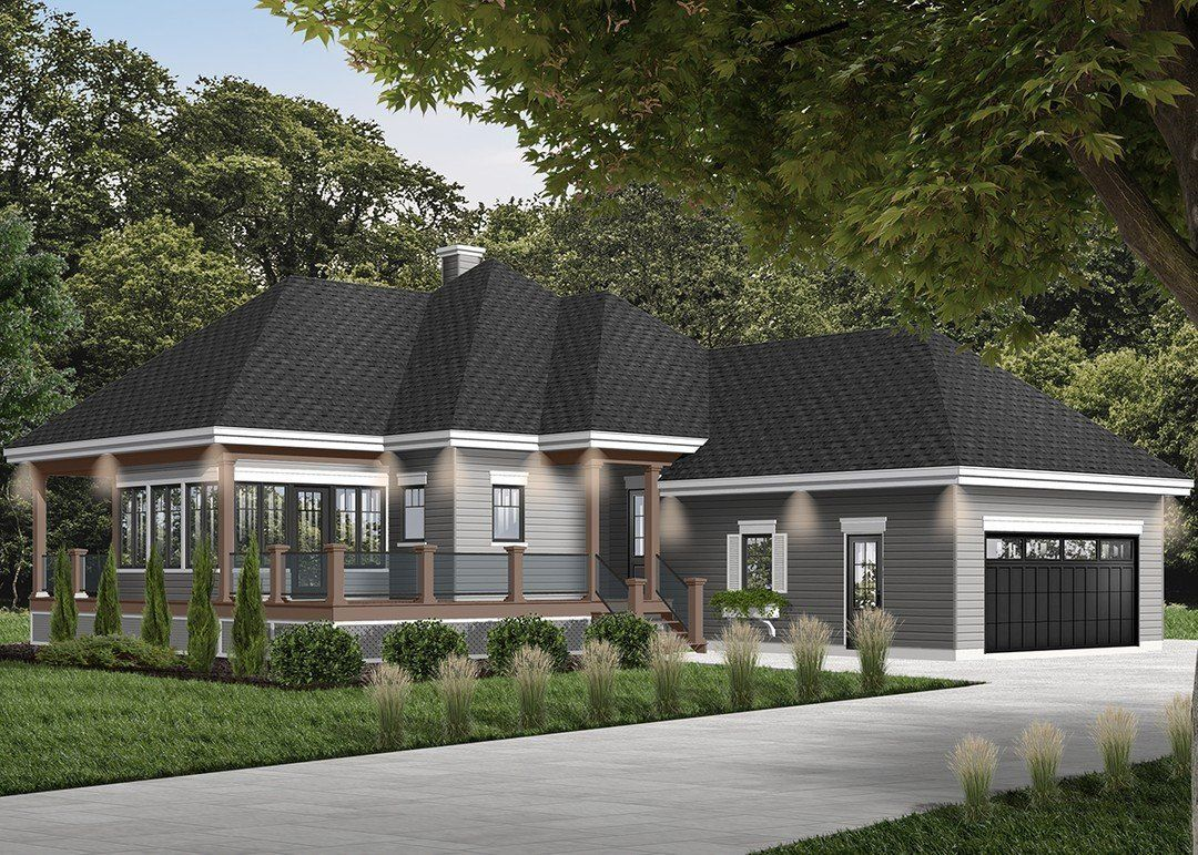 Hpm Home Plans Home Plan 728 39491 Cottage Style House Plans House Plans Country Cottage House Plans