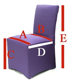 Sizing Chart Stocked Ready Made Dining Chair Covers And Slipcovers Guide 2