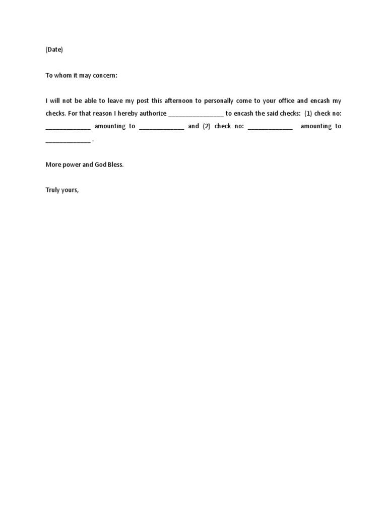Sample Authorization Letter Parent Template Free Word Pdf