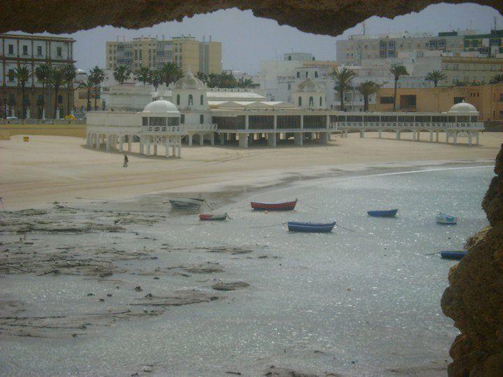 Balneario de la Palma. Playa de La Caleta (Cadiz)