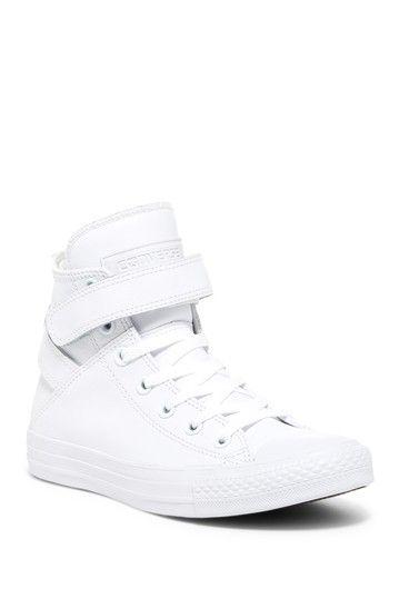 dafcbba6a8ca5b Converse Chuck Taylor All Star Brea Genuine Leather High Top Sneaker (Women)