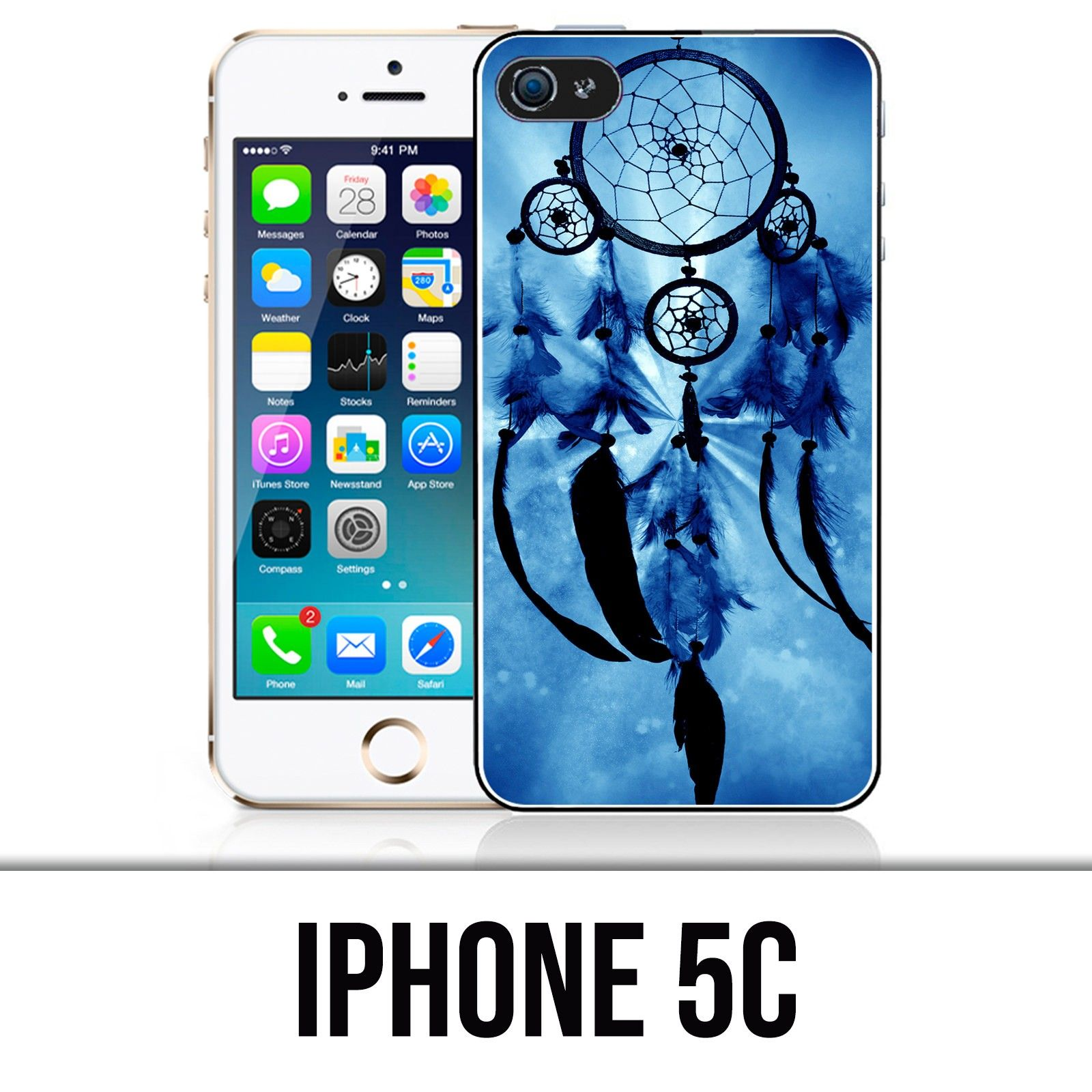 Coque iPhone 5C - Attrape Reve Bleu