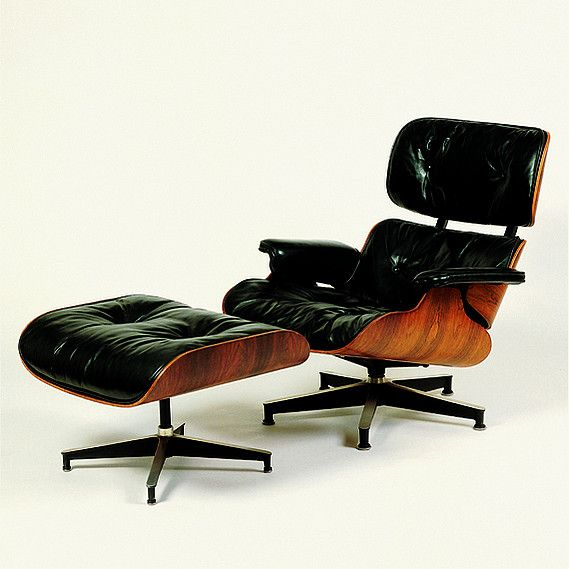 Charles and Ray Eames - Lounge Chair and Ottoman - 1956 | Furniture ...