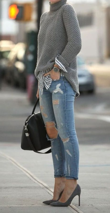 Cute leggings winter outfit casual #fallworkoutfits