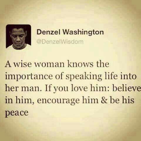 take care of your man