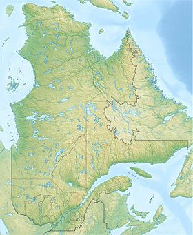 Quebec Topographic Map.Quebec A Huge Watery Place Where To Pinterest Quebec