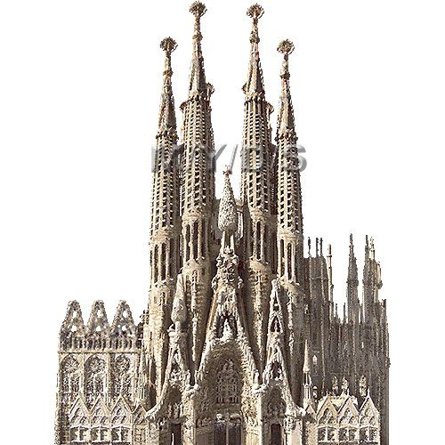 サグラダファミリアのイラスト 条件付フリー素材集 サグラダファミリア イラスト 大聖堂
