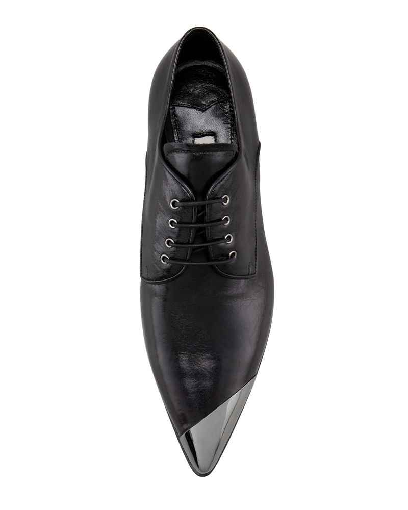 Miu Miu Asymmetric Metal Cap Toe Oxford   Herrenschuhe, Nike