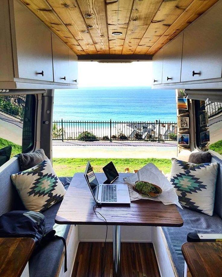 Mobile Office Van Life