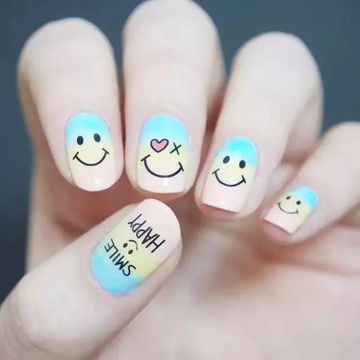 Как сделать прикольные рисунки на ногтях, поздравление