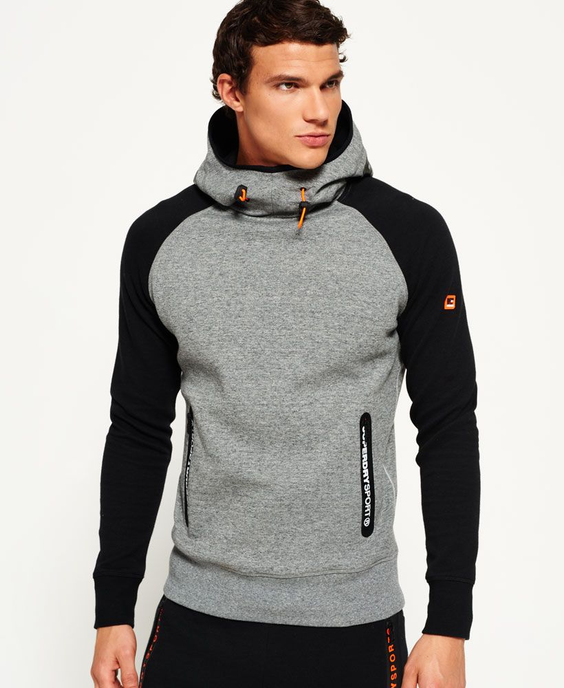 Superdry Gym Tech Raglan Hoodie - Men s Hoodies   运动   Hoodies ... 32b8e795d13d