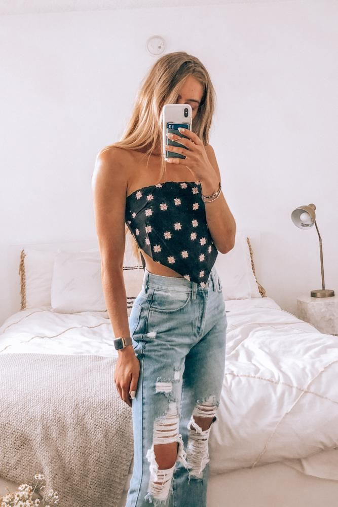 Just Peachy Bandana Top
