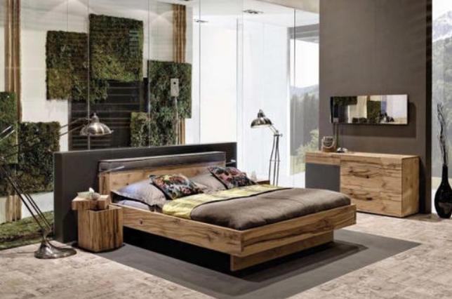 Bett 140 200 Cm In Grau Eichefarben Online Kaufen Xxxlutz Haus Deko Schlafzimmermobel Bett Eiche