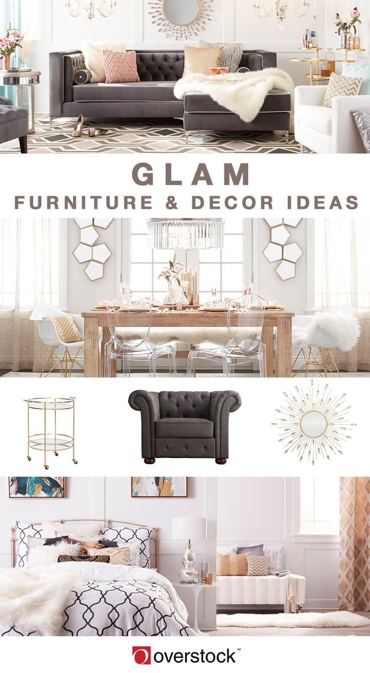 Dazzling Glam Decorating Ideas For Your Home Glam Bedroom Decor