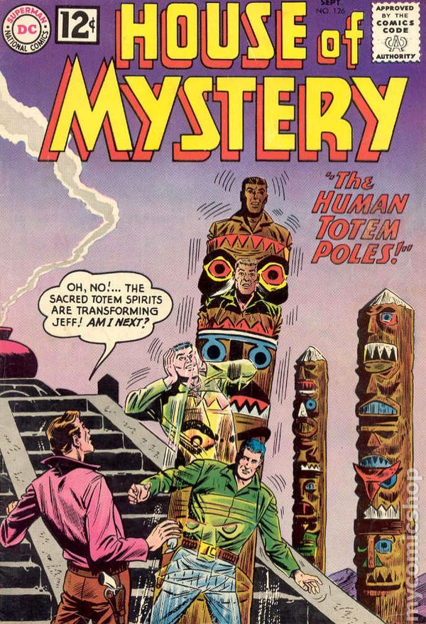 House Of Mystery (1951-1983 1st Series) Comic Books In