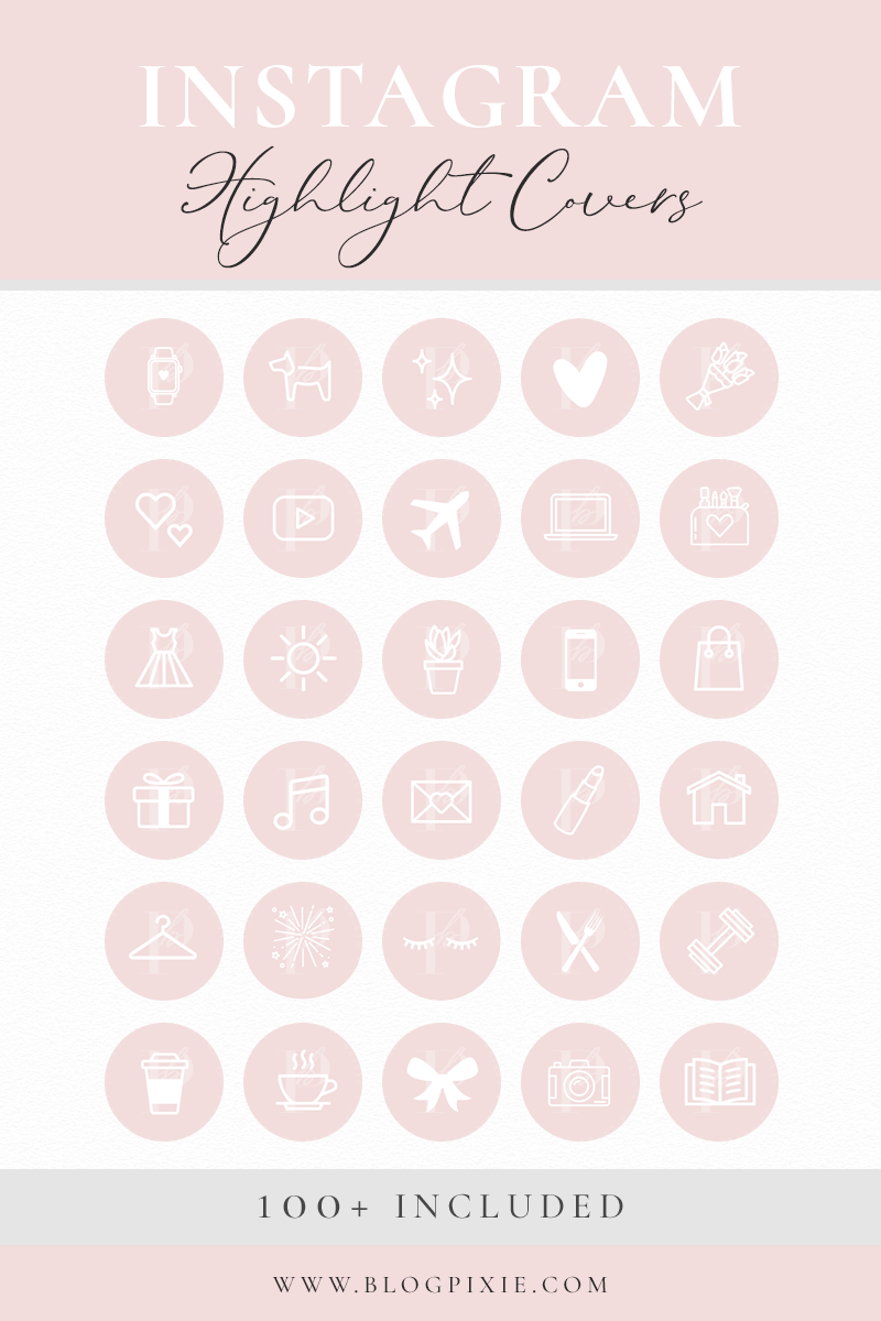 Instagram Highlight Covers Instagram Story Highlight Icons Blush Pink Pastel Pretty Ios14 Icons Highlights Cute Fitness Family Instagram Highlight Icons Instagram Story Ideas Instagram Icons