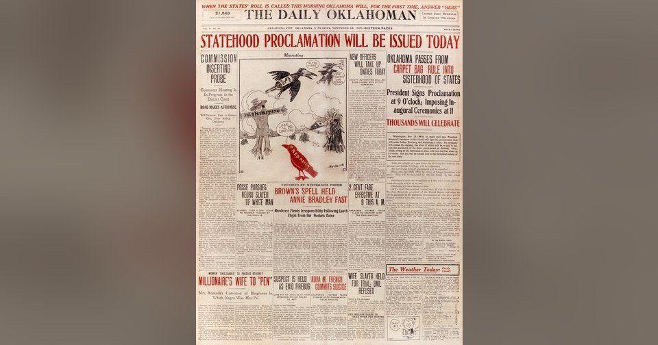 Photo of Ten major events in Oklahoma history – Article Photos