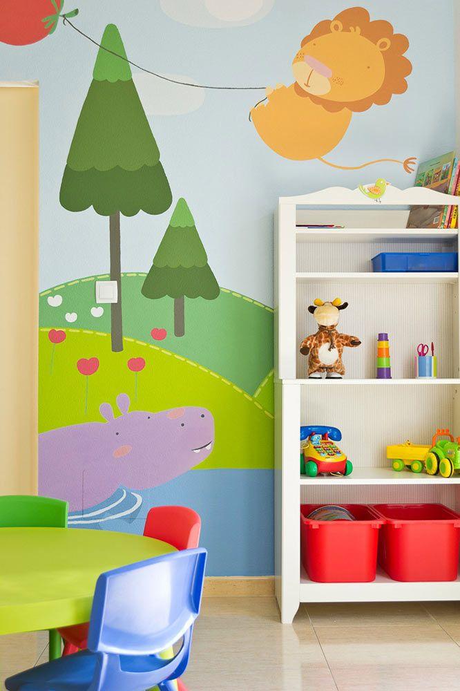Muralestudio murales infantiles murales para colegios - Murales para ninas ...