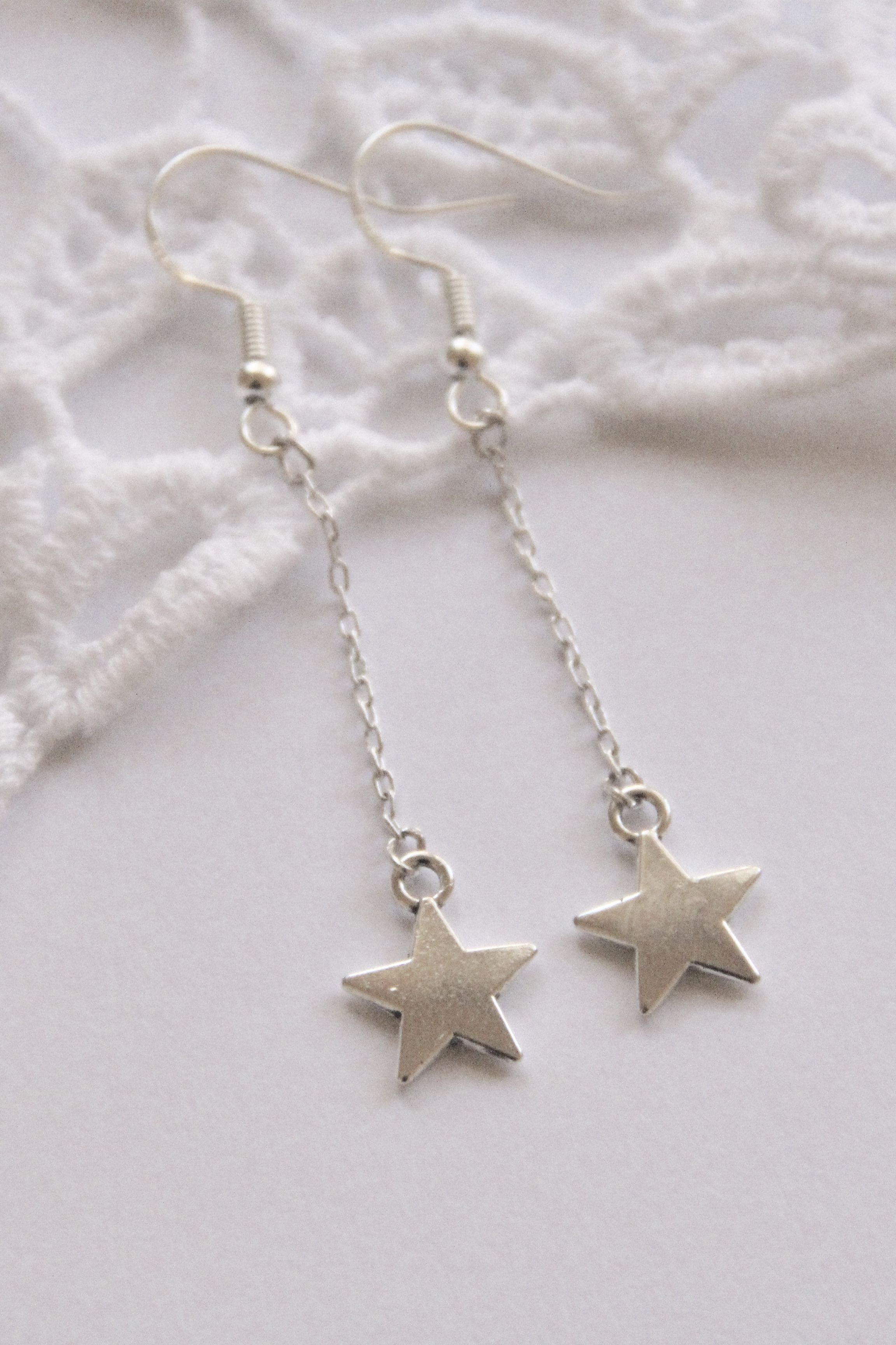 Stars Earrings  Pendants  Star  Jewelry  Fimo  Opal  Kawaii  Cute