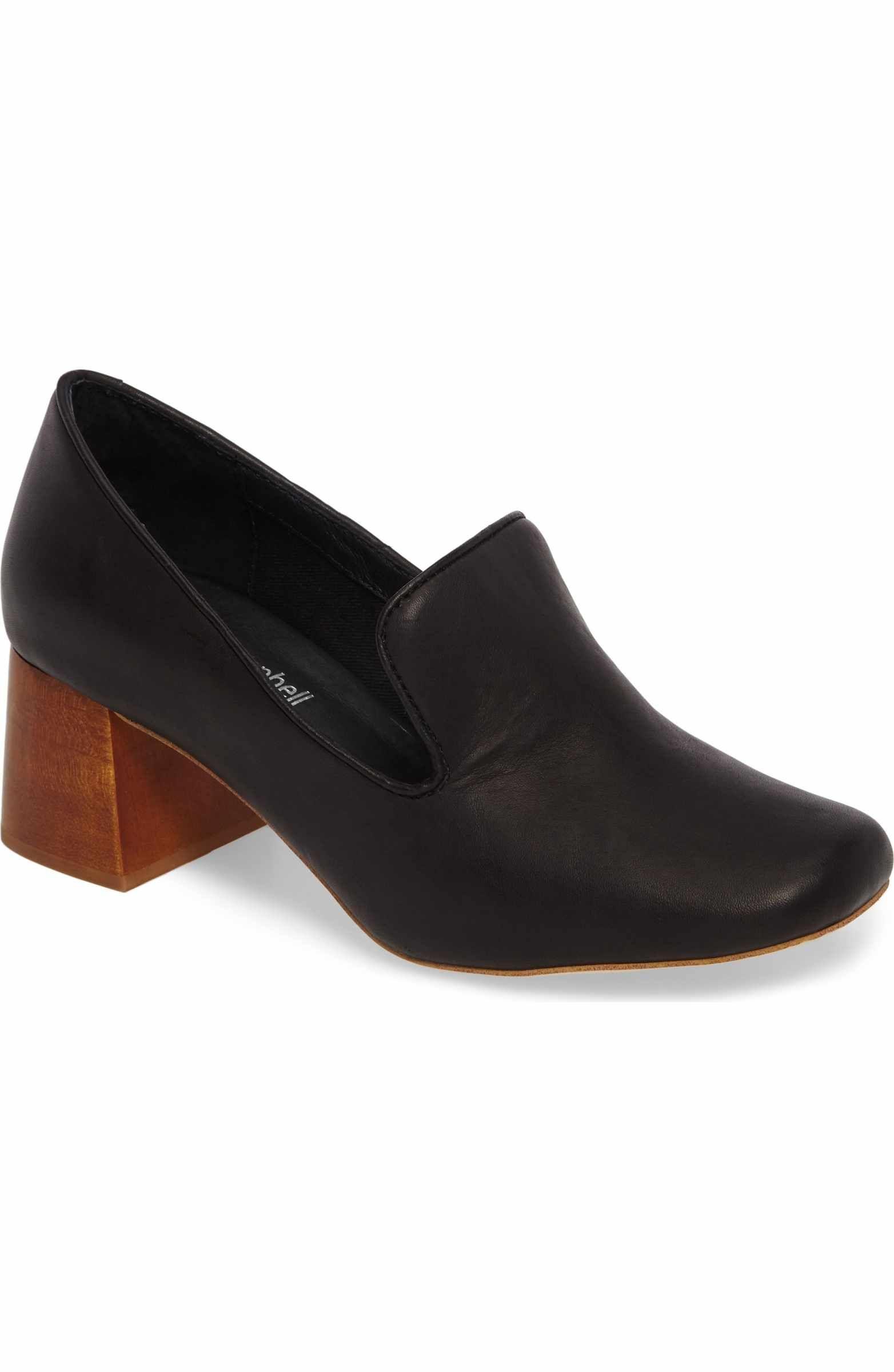 7bf19465e8b Jeffrey Campbell Lister Flared Heel Loafer Pump (Women)