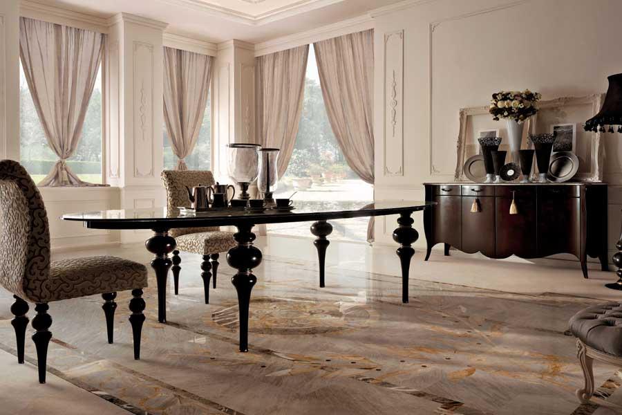 طاولات طعام وديكورات غرف طعام وغرف سفرة إيطالية فخمة ديكورات أرابيا In 2021 Luxury Home Furniture Dining Table Table