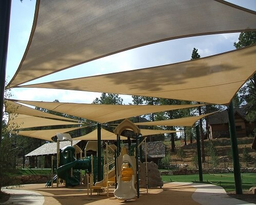 Shades Dubai High Quality Shade Sails Car Awning Tent Types Of Wedding Tents School Playground Canopies Wa In 2020 Shade Sail Shade Sails Patio Shade Sail Installation