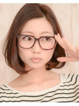 メガネ女子に似合うかわいい髪型集 眼鏡 ヘアカタログ ロング ショート 30代 Naver まとめ Hair Styles Hair Beauty Hairstyle