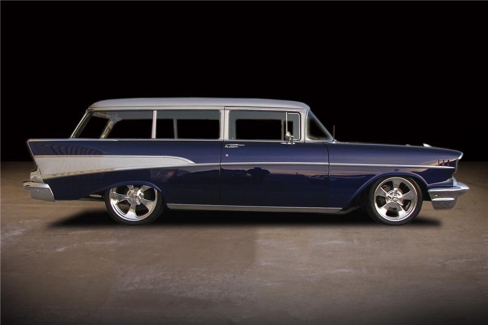 1957 Chevrolet 210 Custom 2 Door Wagon 81734 1957 Chevrolet Chevrolet Wagon