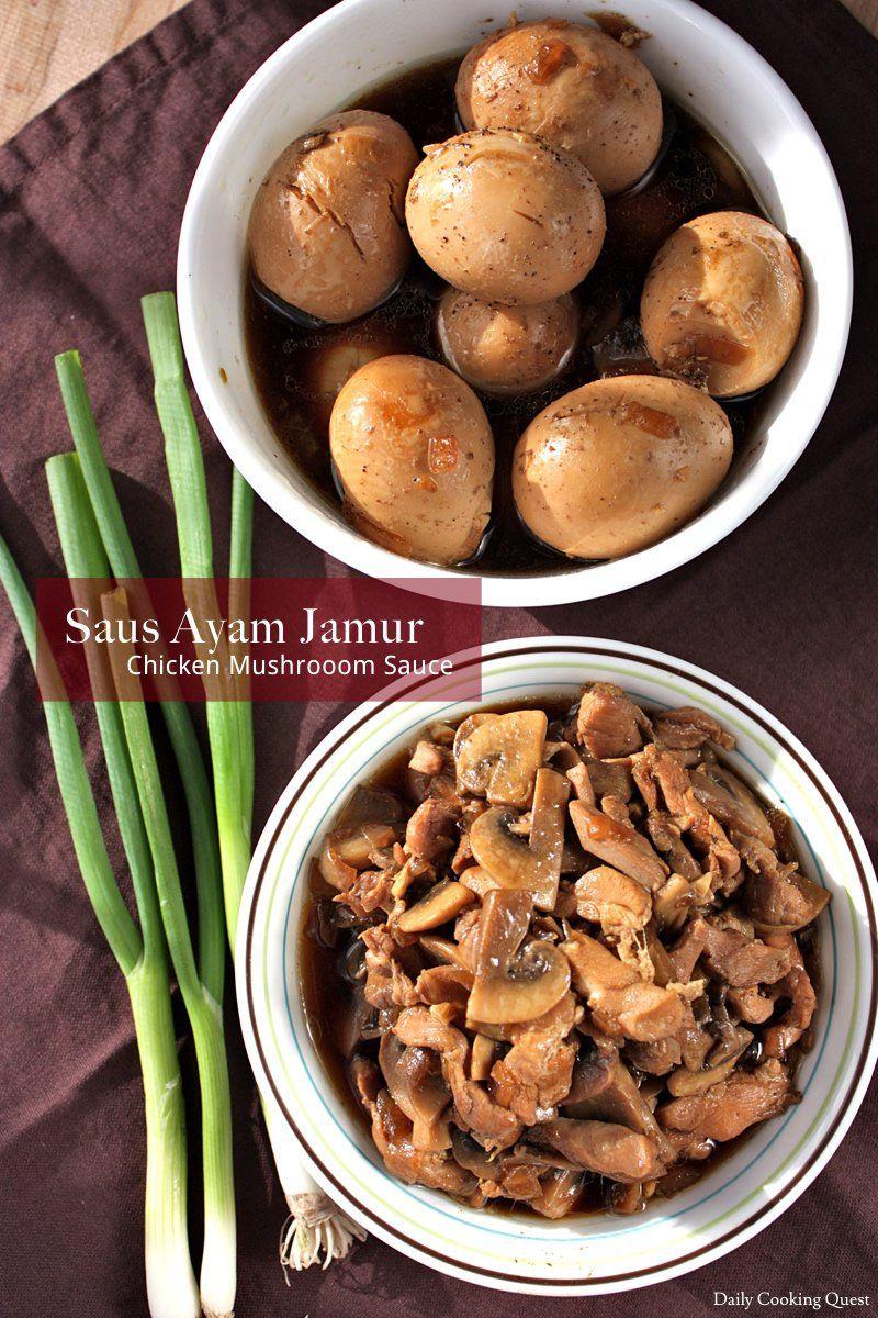 Saus Ayam Jamur Chicken Mushroom Sauce Recipe Mushroom Sauce For Chicken Mushroom Chicken Stuffed Mushrooms