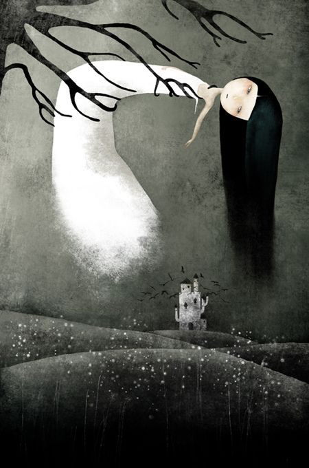 Great illustrations by Anne Julie Aubry  http://xaxor.com/drawings/18884-great-illustrations-by-anne-julie-aubry.html#