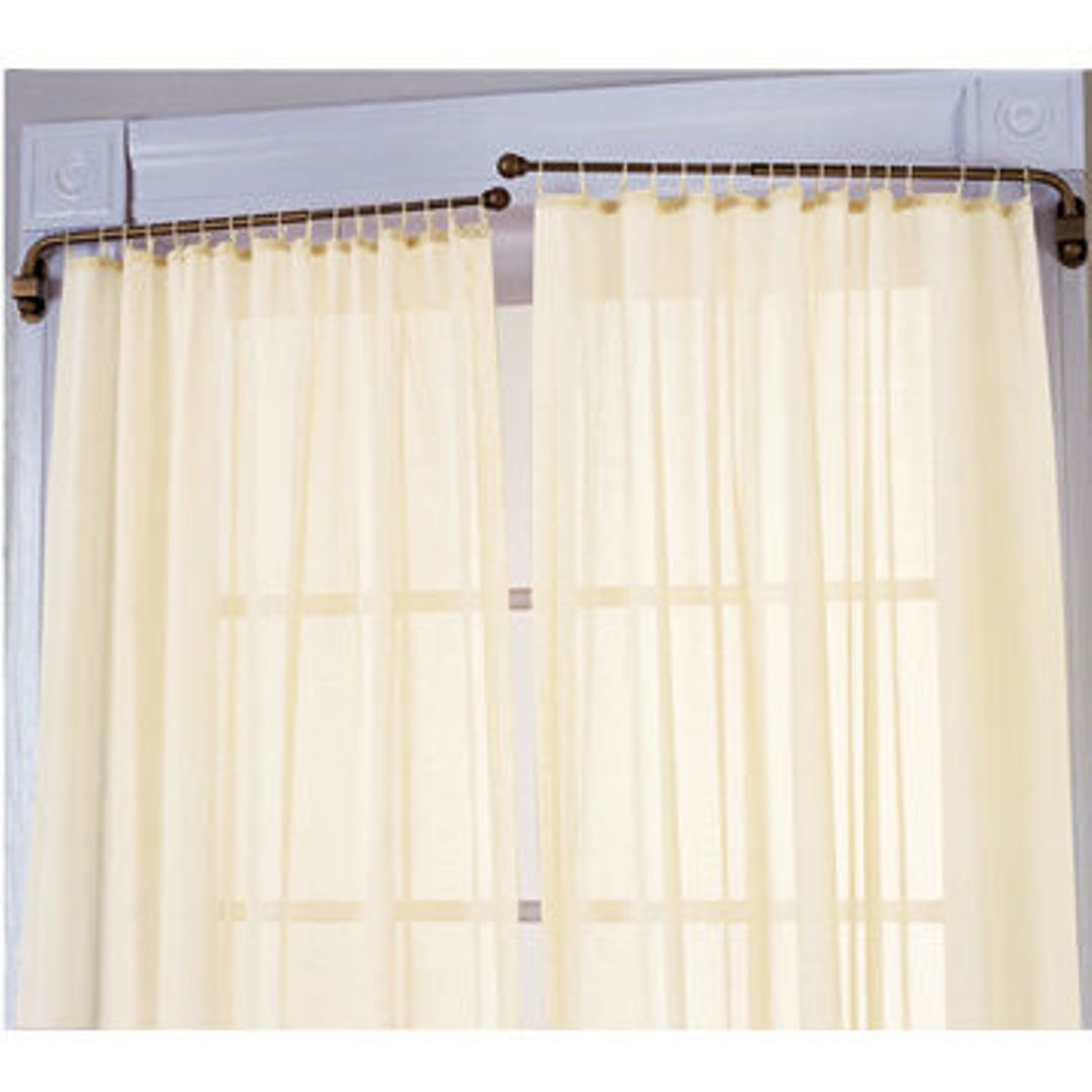 Swing Arm Curtain Rod How To Make A Swing Arm Curtain Rod