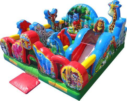 visit our site http www comicjumps com bounce slide combo house