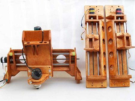 It S Just Cool Portable Wooden Cnc Machine Toolmonger Diy Cnc Router Diy Cnc Cnc