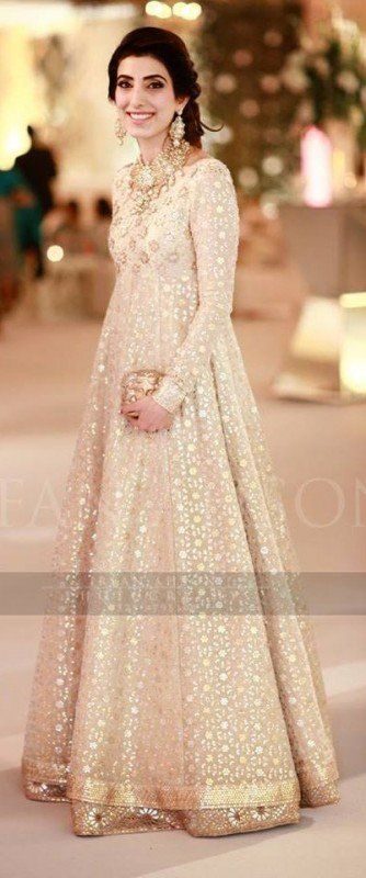 9f4ee52bfab06 Off White Fancy Girls Dresses | designs i like | Dresses, Ladies ...