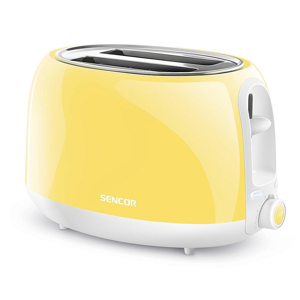 Sencor Electric Toaster - Pastel Yellow