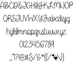258686330f07b8d29118e78a52cd0cb0 Cute Fonts Pretty 236x212