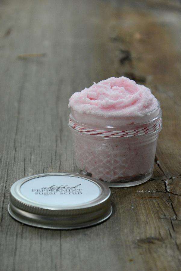 Peppermint Sugar Scrub Gift Idea From The Idea Room