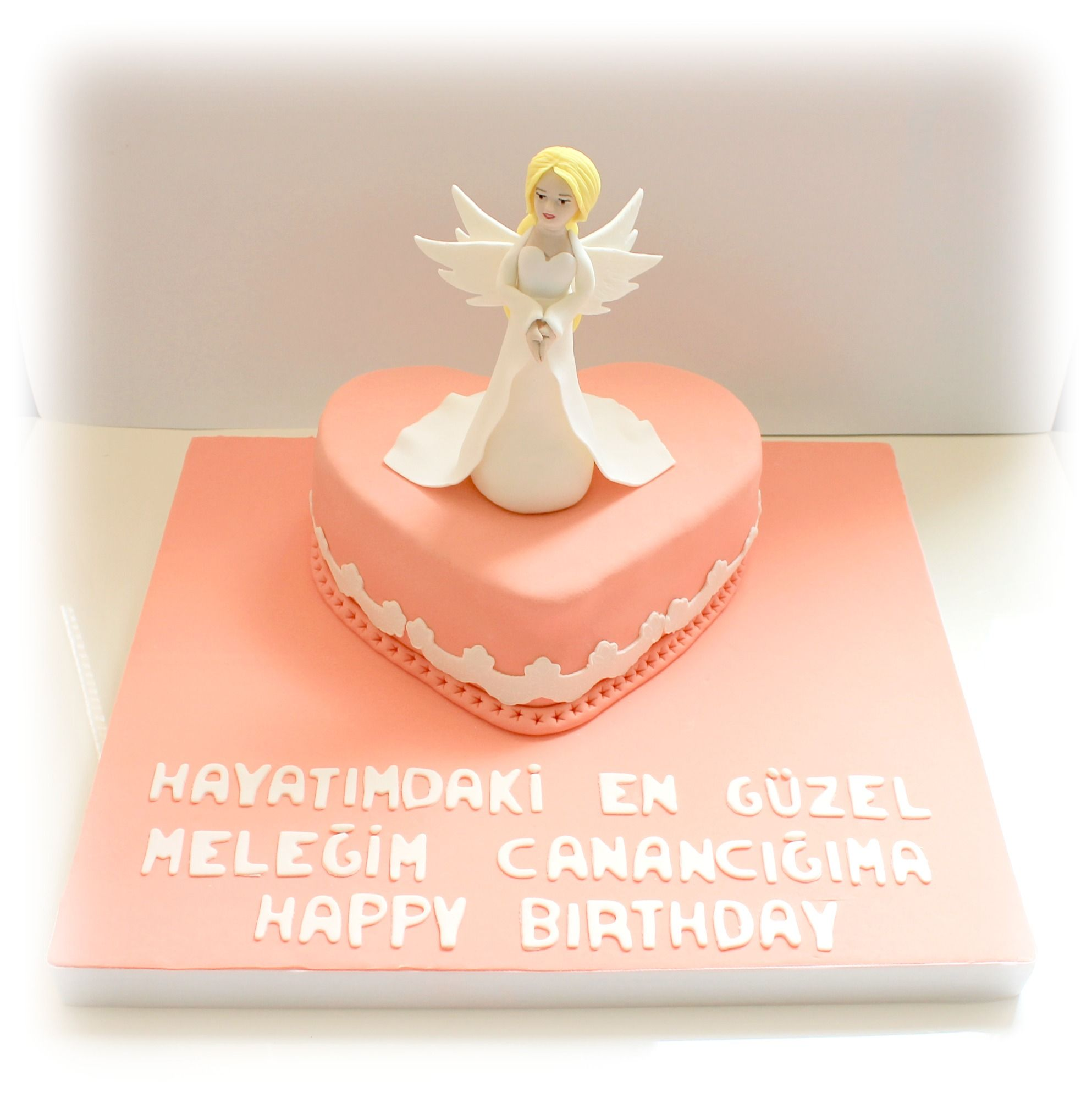 Angel birthdaycake Ebruli Cake Design Pinterest Angel