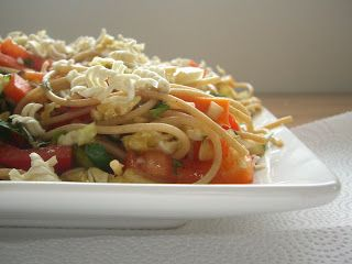 Sesame Noodle Salad - Lauren's LatestLauren's Latest