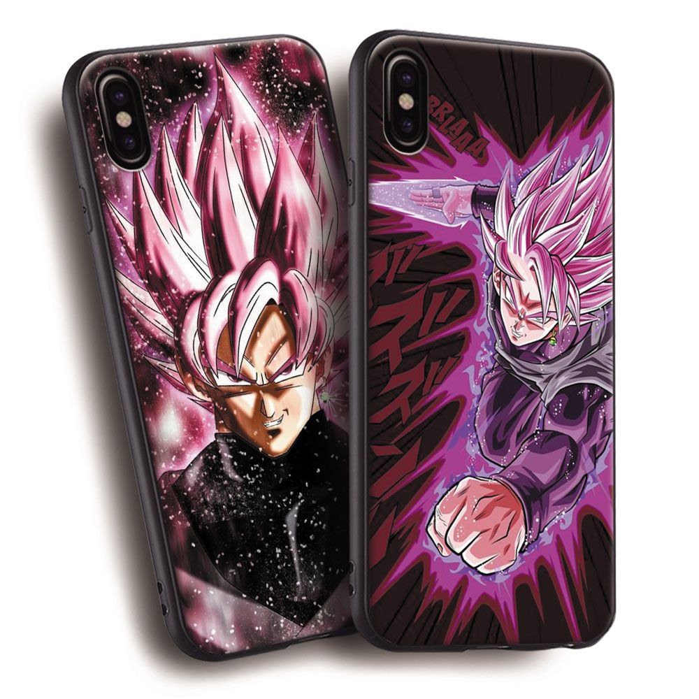 on sale 67749 a7f46 Goku Black Dragon Ball Super DBS Soft Silicone Phone Case Cover ...