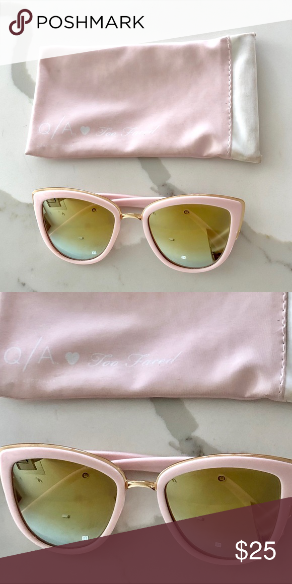 b37ae94a23b3e Quay x Too Faced Sunglasses These are the sunglasses from the Too Faced  collab with Quay Australia. There are some minor scratches on the lenses  from normal ...