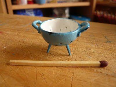 Miniatur Küche   Wie Ein Sieb Miniatur Techniken Mooghiscath Mini Tutorials
