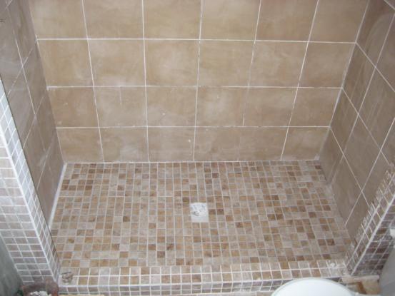 Tile Shower Floor   One House One Couple
