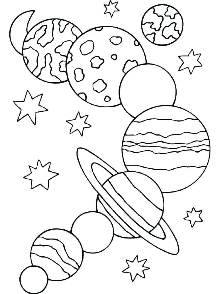 childrens space coloring pages - photo#7
