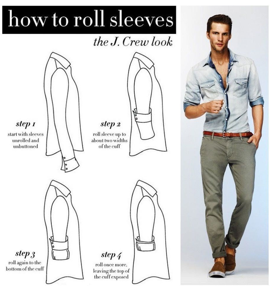 57 infographics that will make a man fashion expert how