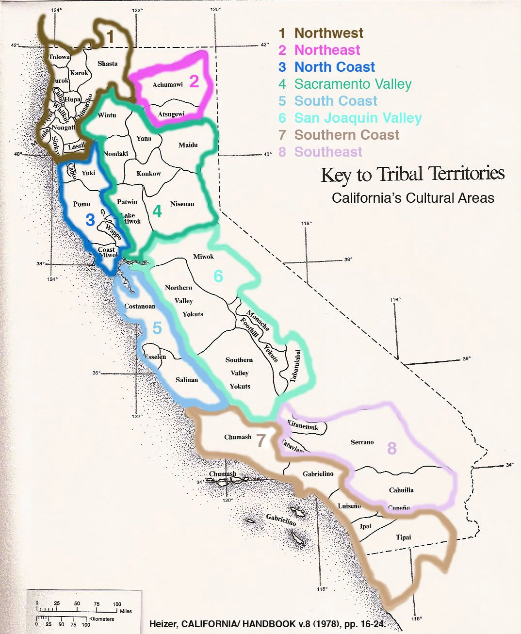 Tribal Territories in California | People: Indigenous to Mt Shasta on