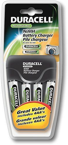 Battery Biz Inc Duracell Value Aa Aaa Charger With 4 Aa By Duracell 21 99 Save 12 Off Http Www Letrasdecanciones Duracell Nimh Battery Charger Charger